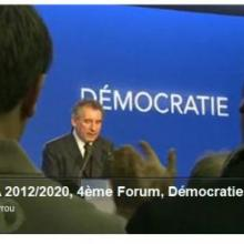 contrat, democratique, forum, bayrou, présidentielle